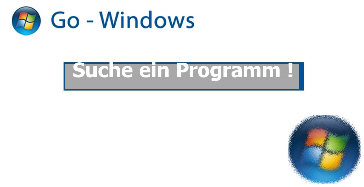 Suche Programm