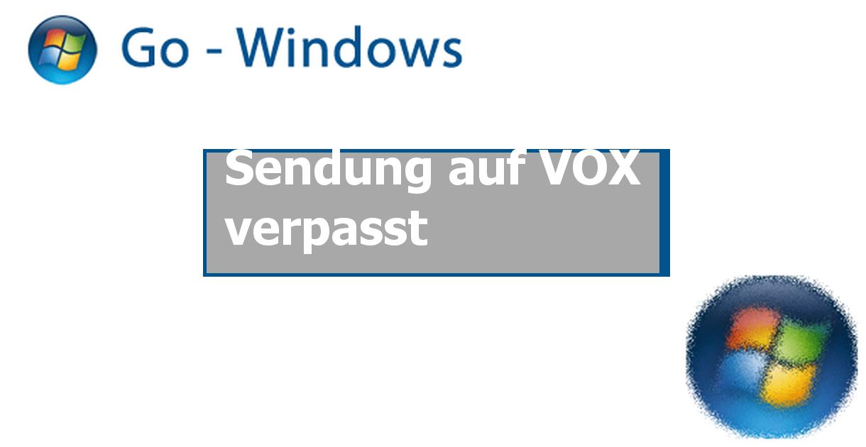 Vox Verpasst