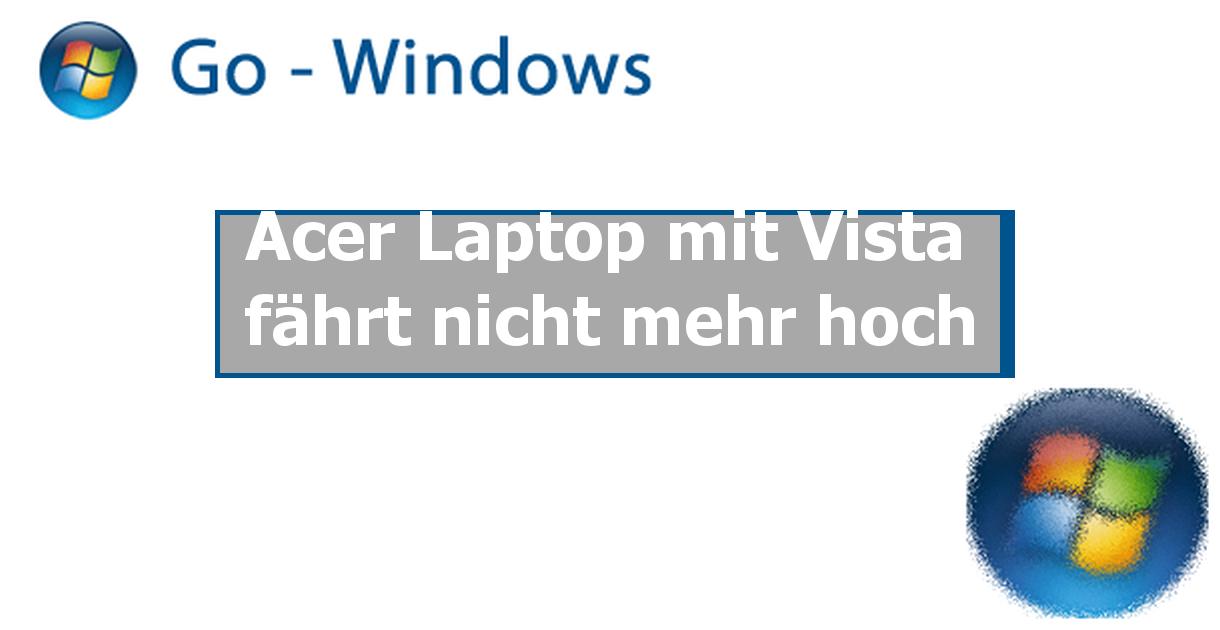 Acer Laptop Fährt Nicht Hoch