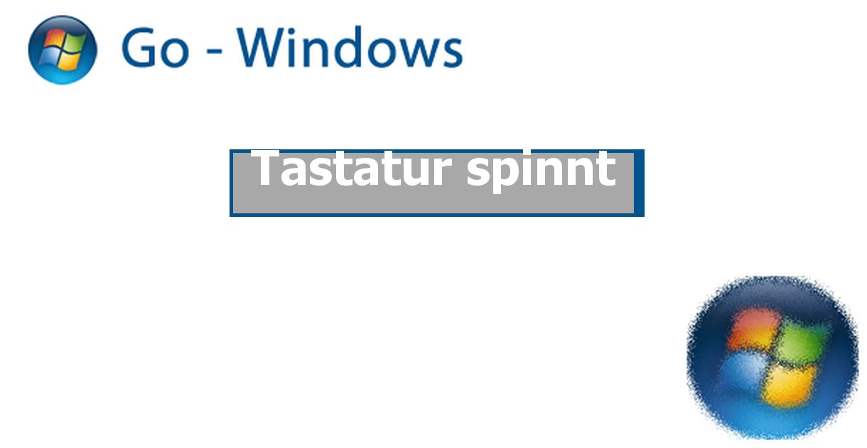 Windows 10 Tastatur Spinnt