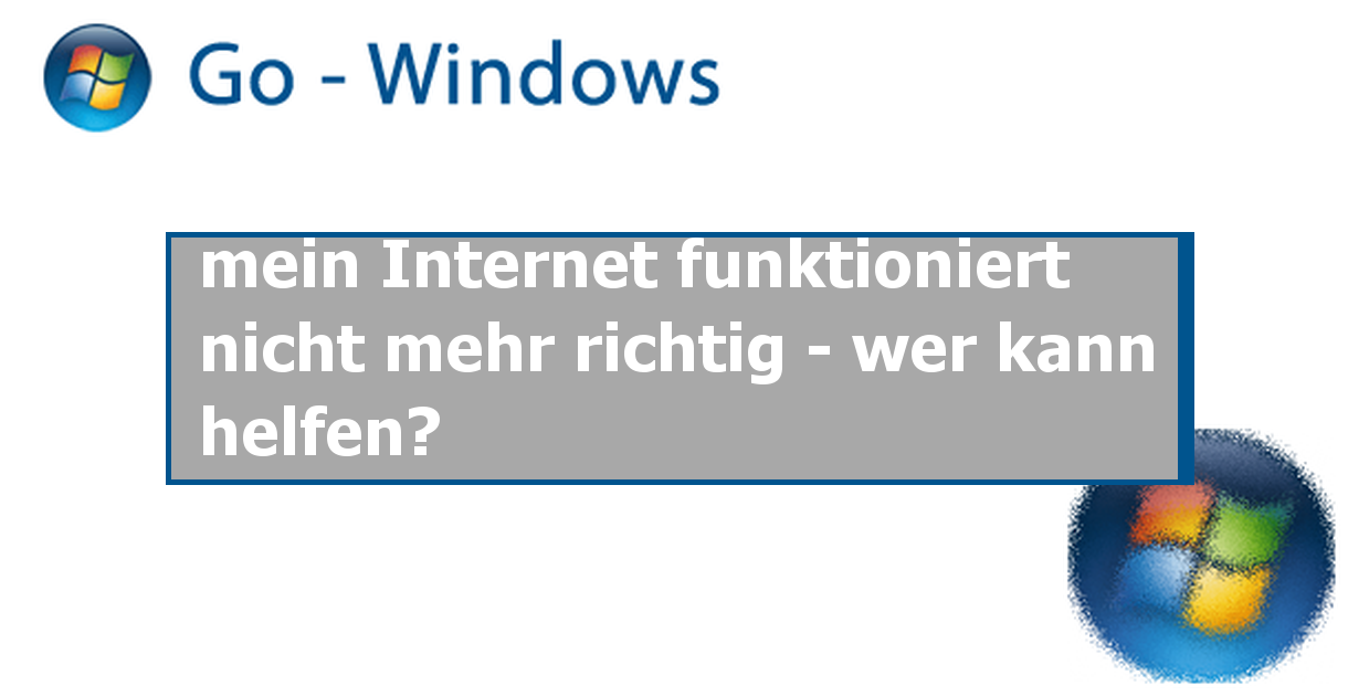 mein internet funktioniert nicht mehr richtig wer kann helfen windows 7 forum. Black Bedroom Furniture Sets. Home Design Ideas