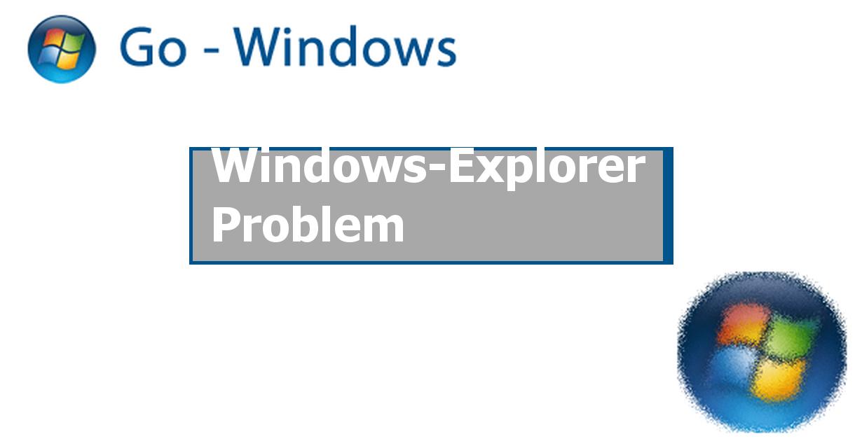 windows explorer funktioniert nicht mehr beim kopieren