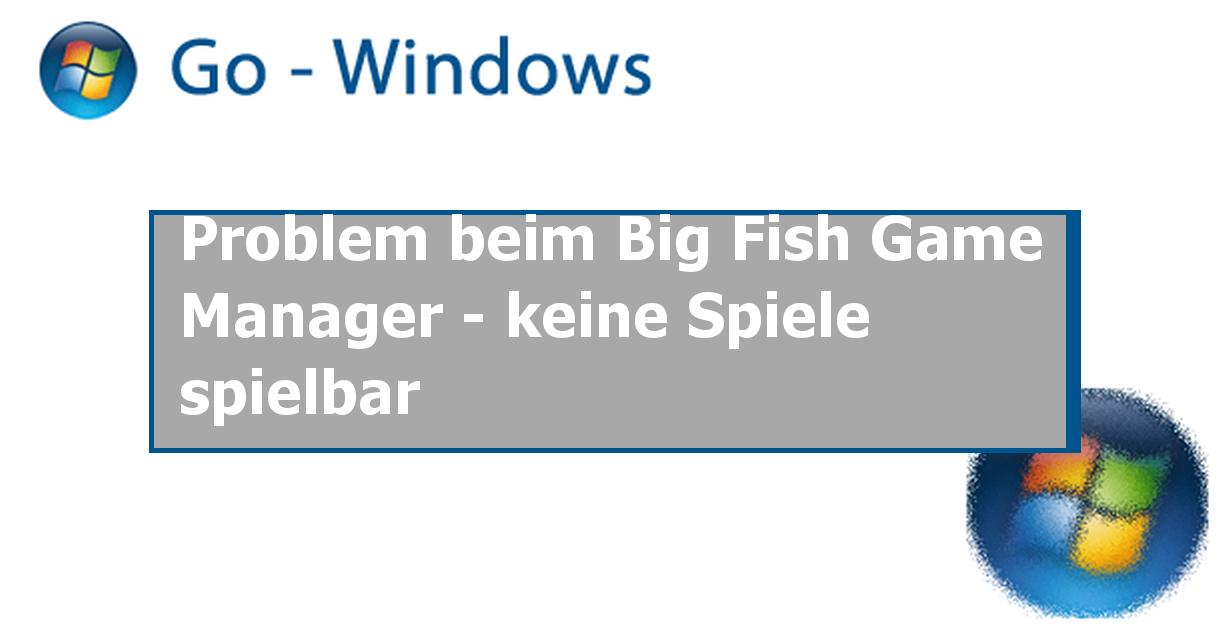Windows 10 – Big Fish Games Help
