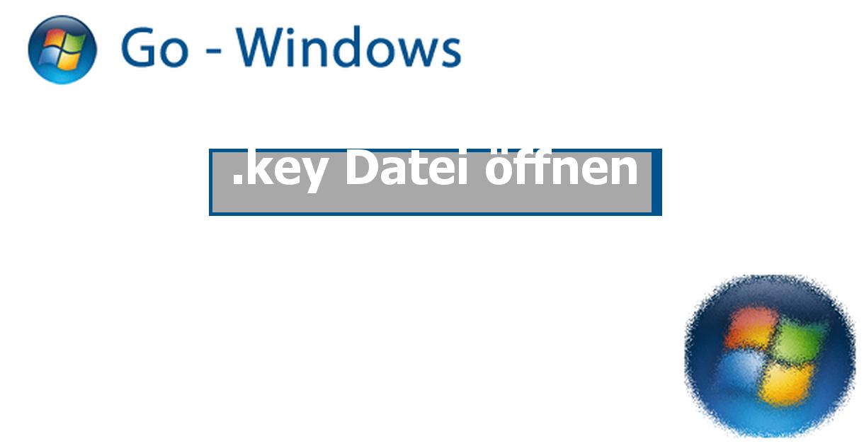 Key Datei öffnen