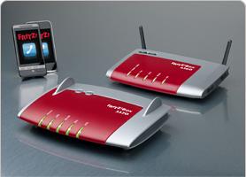 FRITZ!Box WLAN 3370 mit 450 Mbit – 6360 mit Kabelmodem