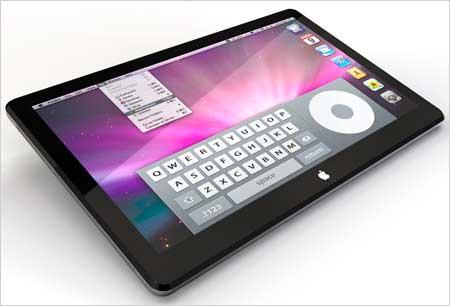 Apple: Tablet iSlate bzw. iTablet wird im Januar vorgestellt