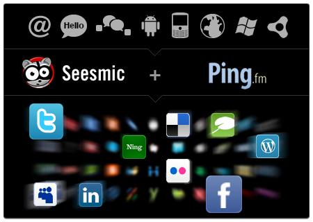 Seesmic kauft ping.fm