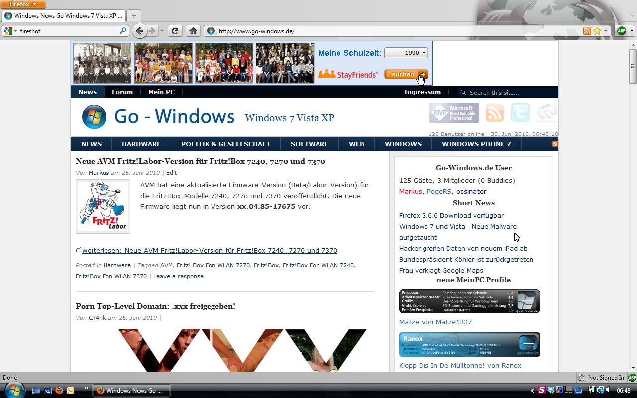 Firefox 4 Download (Beta 1 RC) verfügbar