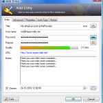KeePass - Passwort/Eintrag hinzufügen