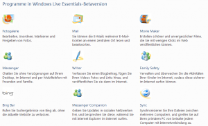 windows live essentials beta 2010 deutsch